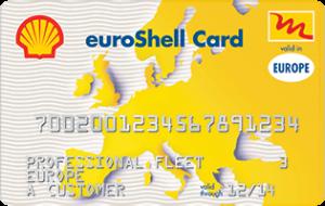 euroShell card