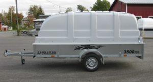 JJ-Trailer 3500 Pro 35 cm laidalla