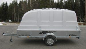 JJ-Trailer 3500 Pro Maxi 35 cm laidalla